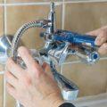 сменситель в ванную своими руками - монтаж