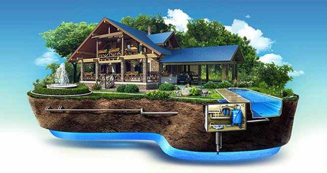 Монтаж канализации частного дома, коттеджа, квартиры и дачи под ключ