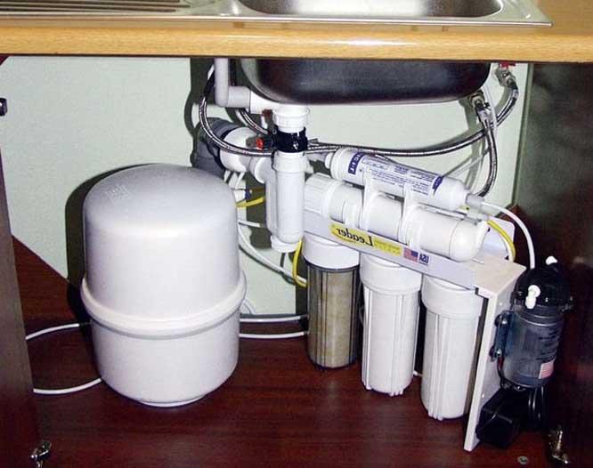 вызвать мастера для установки фильтров