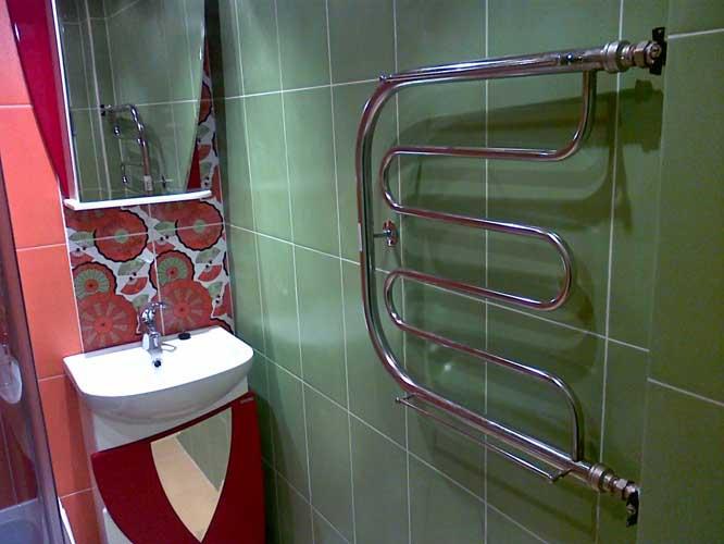 мастер для установки полотенцесушителя