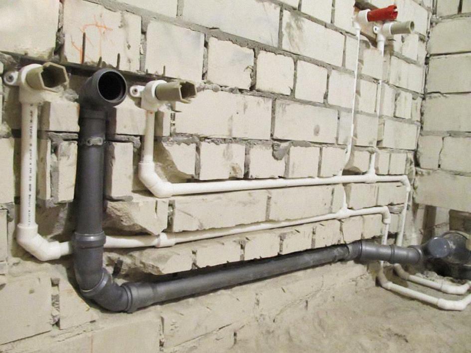 Прокладка водопровода в квартире